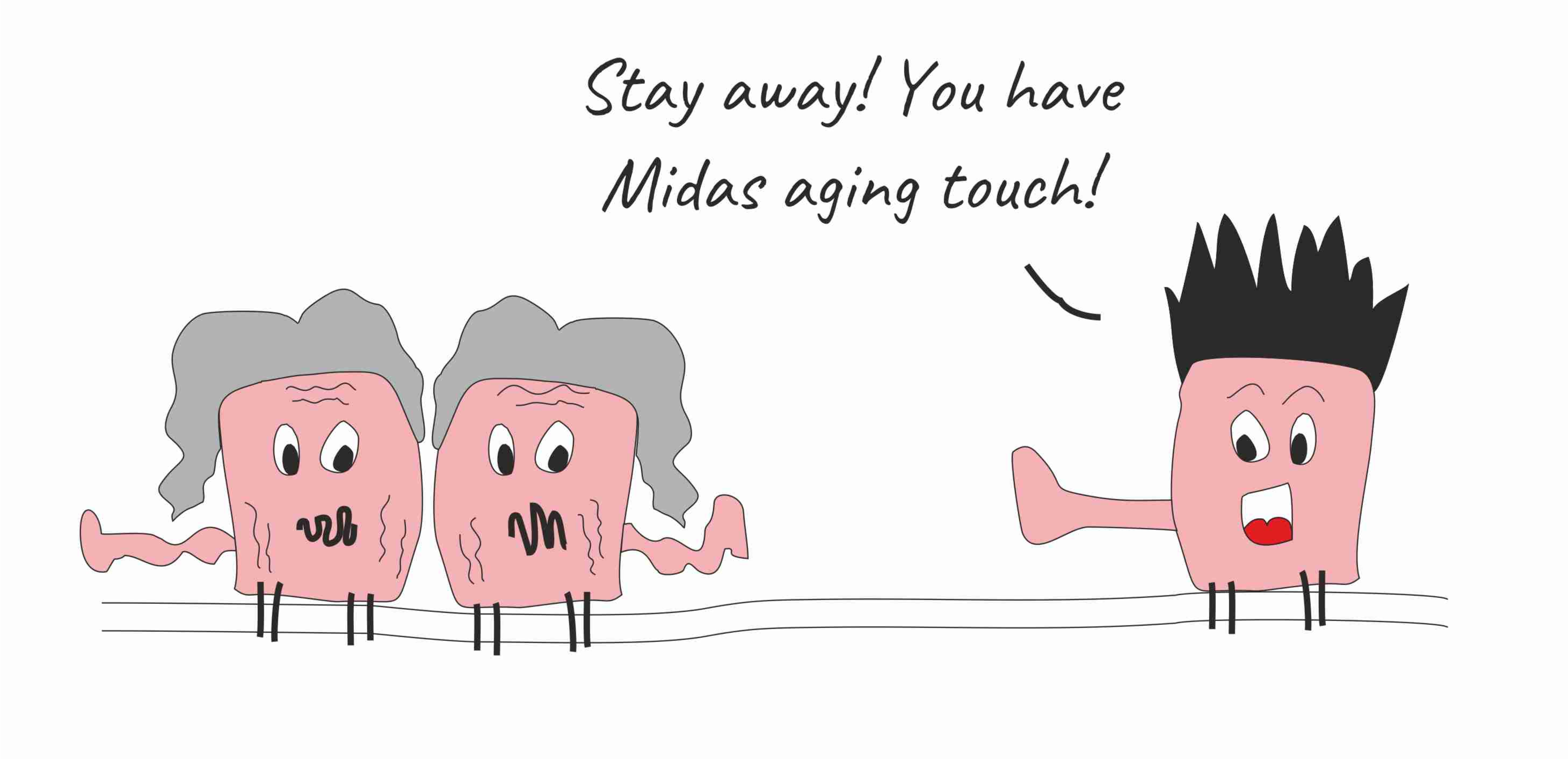"""Does the """"bystander effect"""" affect the rate of aging?"""