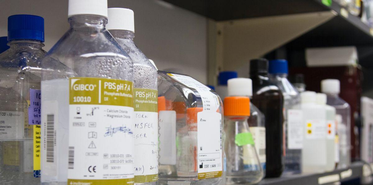 Order lab reagents using study protocols